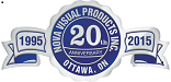NVP 20th year seal